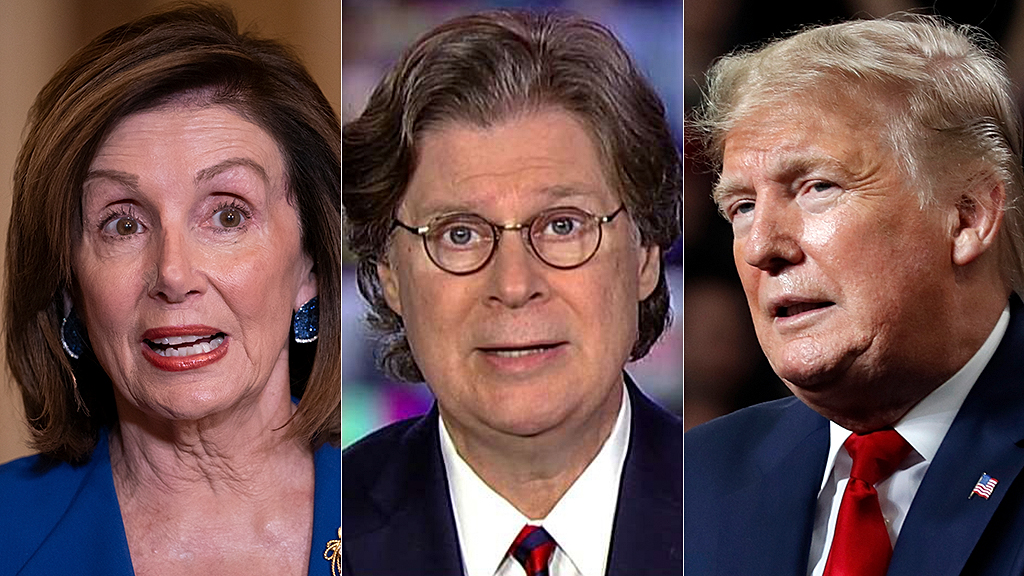 Byron York: Trump and Pelosi are now 'trolling each other' on impeachment thumbnail