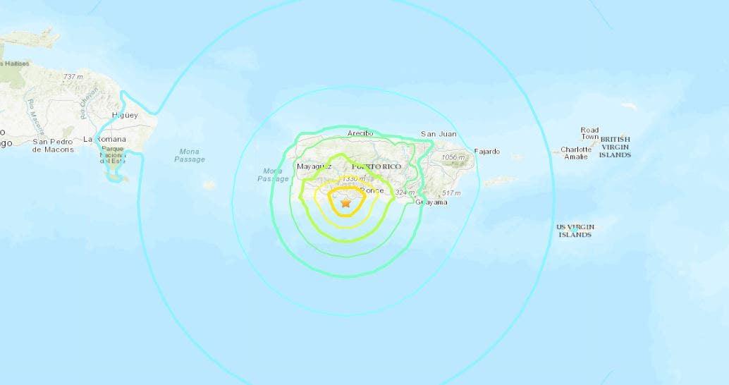 Westlake Legal Group puerto-rico-earthquake Puerto Rico hit with 6.5 magnitude earthquake, island-wide blackout reported fox-news/us/us-regions/us-puerto-rico fox-news/us/disasters/earthquakes fox news fnc/us fnc David Aaro article 68dd4fd9-9119-51c0-9a1e-965b53c63f9e