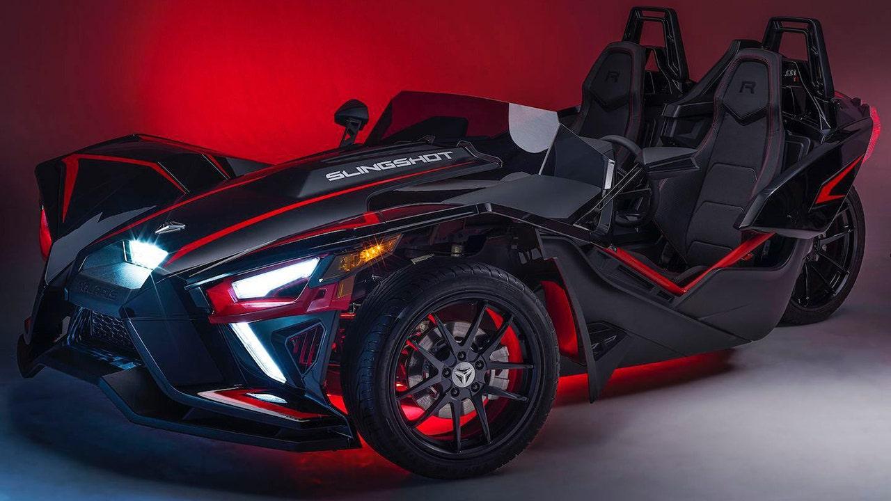 Bizarre Polaris Slingshot three-wheeler aktualisiert mit neuen Motor für 2020
