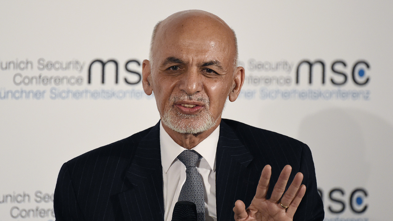 Afghan president blames swift US withdrawal for Taliban surge, with key cities under threat