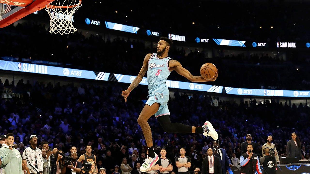 Derrick Jones Jr gewinnt NBA-slam-dunk-contest-aber Aaron Gordon fühlt sich bestohlen