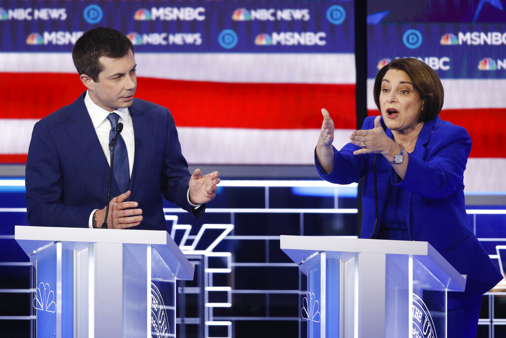 Westlake Legal Group AP20051105134025 Klobuchar asks Buttigieg at debate: 'Are you trying to say that I'm dumb?' Vandana Rambaran fox-news/politics/elections/democrats fox-news/politics/2020-presidential-election fox-news/politics fox-news/person/pete-buttigieg fox-news/person/amy-klobuchar fox news fnc/politics fnc c19b76a9-b70a-5b3f-8272-0fa008099687 article