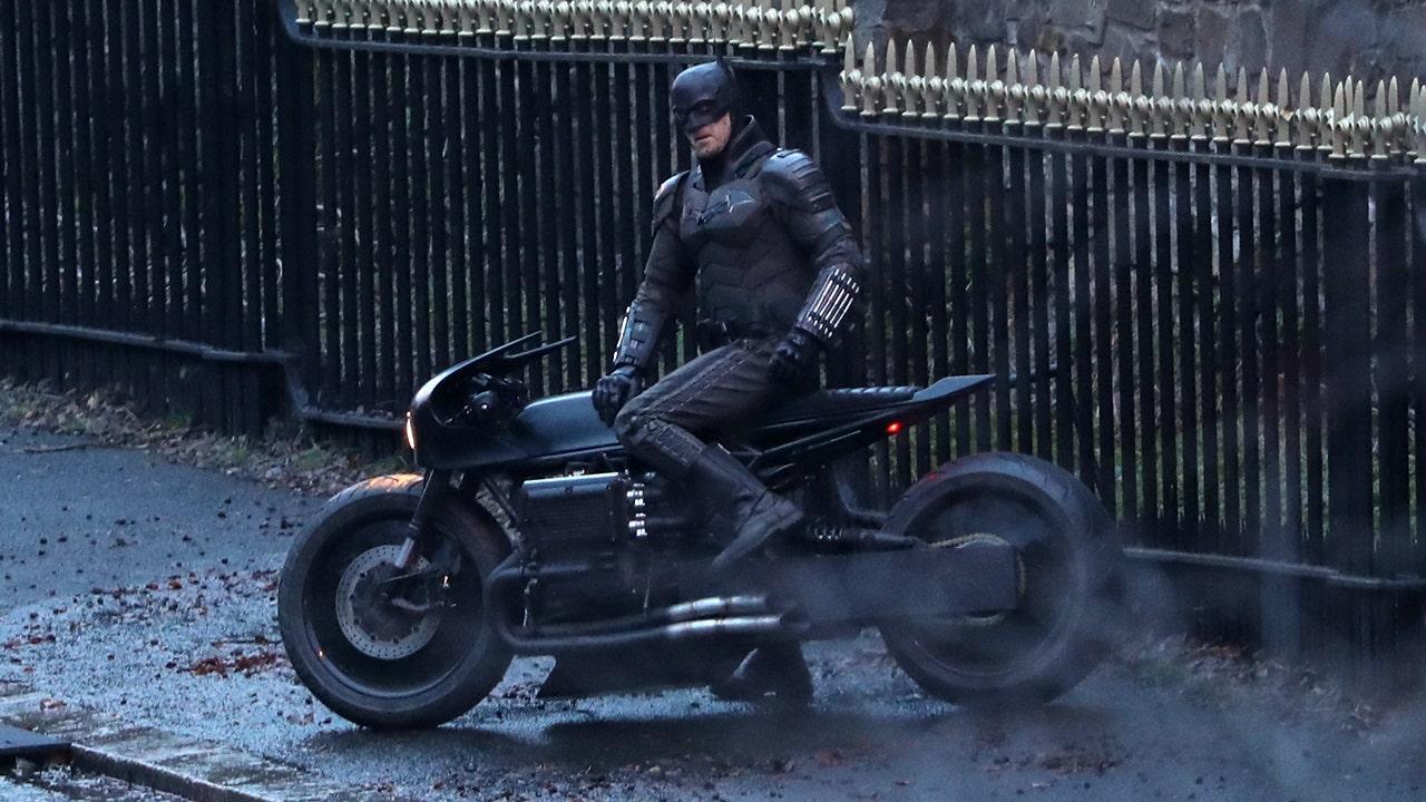 Batman's new bat-bike revealed in 'The Batman' set photos