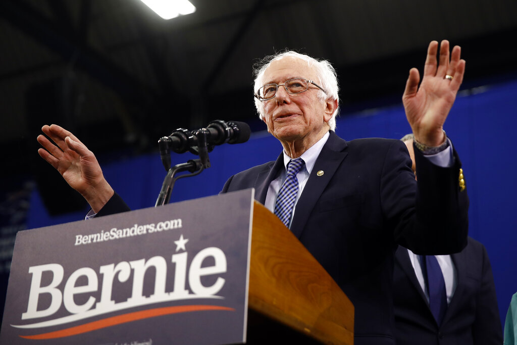 Bernie Panik breitet sich innerhalb der Demokratischen Partei; Weiße Haus reagiert auf Barr 's get Kommentare über Trump' s tweets