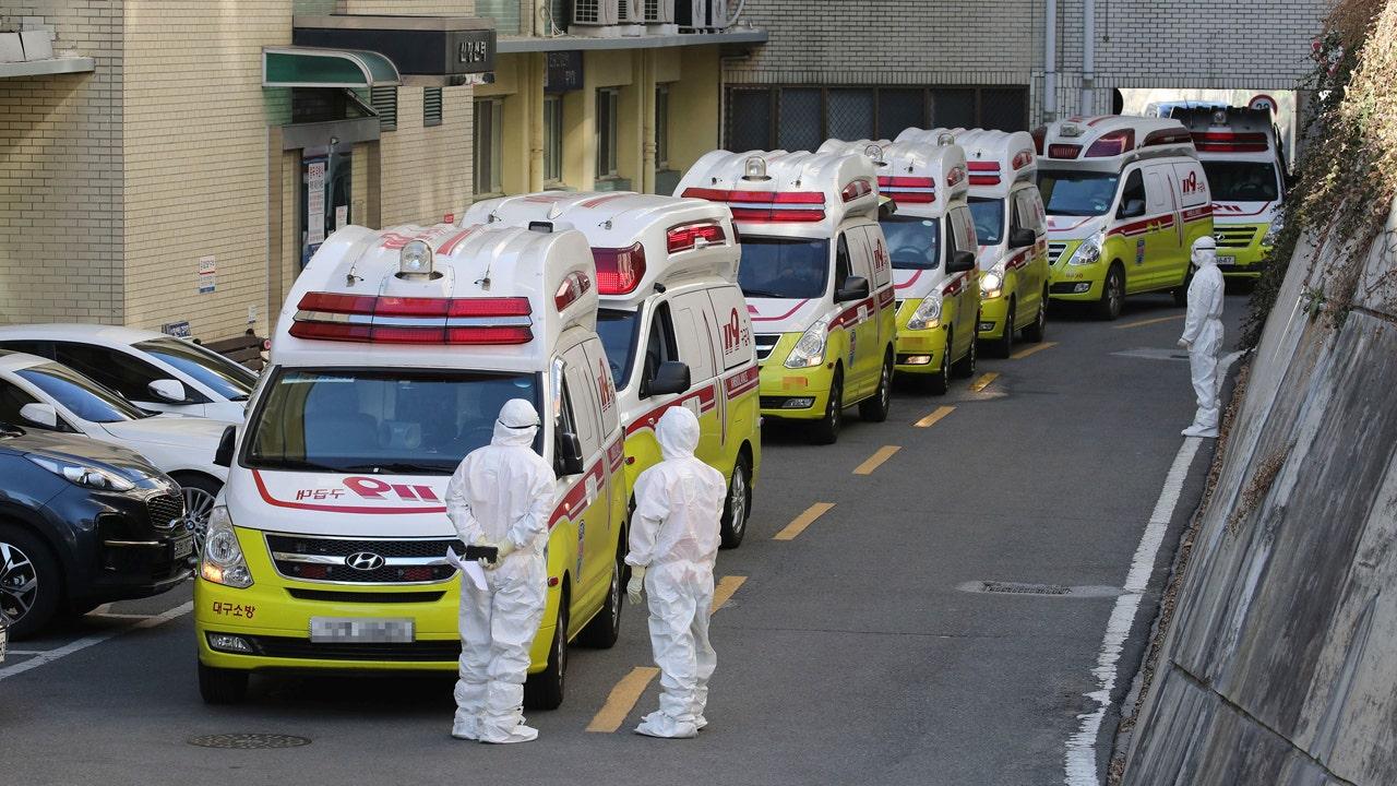 Coronavirus-Infektionen Anstieg in Italien, Süd-Korea als virus tötet mindestens 8 in Iran