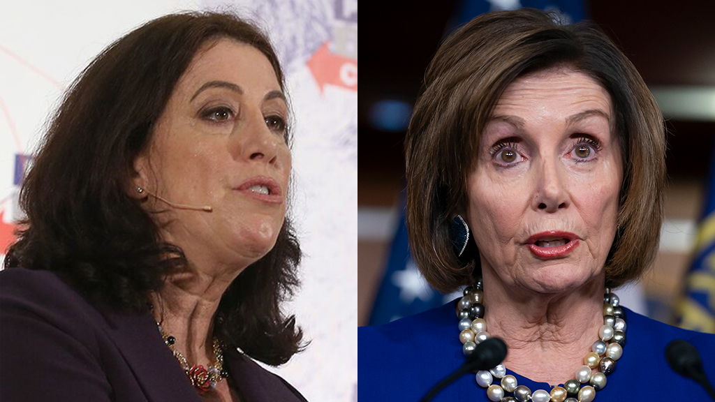 Westlake Legal Group Christine-Nancy-Pelosi-Getty-AP Christine Pelosi says mother's shredding of State of the Union speech was 'an Italian grandma move' Yael Halon fox-news/shows/the-story fox-news/person/nancy-pelosi fox-news/media/fox-news-flash fox news fnc/media fnc b7a47697-2ab2-5ae8-9e0b-b756e3d52c69 article