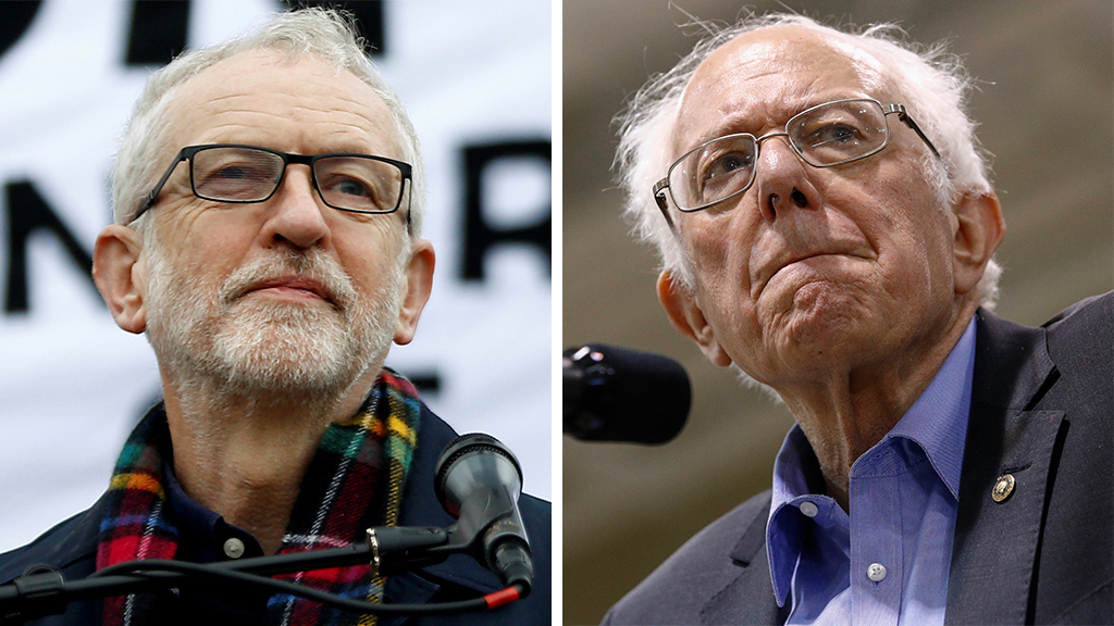 Could Bernie Sanders do to Democrats what Jeremy Corbyn did to UK's Labour Party?