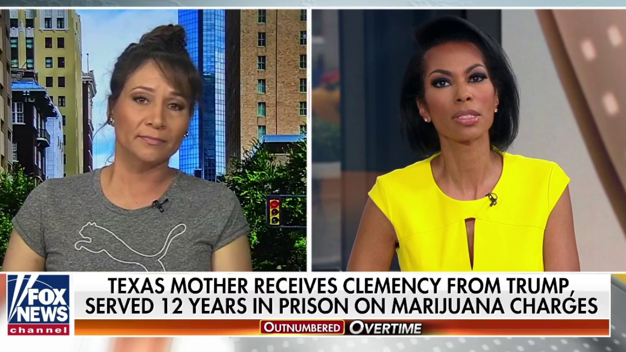 Westlake Legal Group Crystal- Texas mother who had prison sentence commuted by Trump wants to give president a 'huge hug' Talia Kaplan fox-news/us/us-regions/southwest/texas fox-news/us/crime/drugs fox-news/us/crime fox-news/shows/outnumbered-overtime fox-news/person/donald-trump fox-news/media/fox-news-flash fox news fnc/media fnc bb1f240c-74e9-58ce-a5fa-3ebcb70d5f9a article