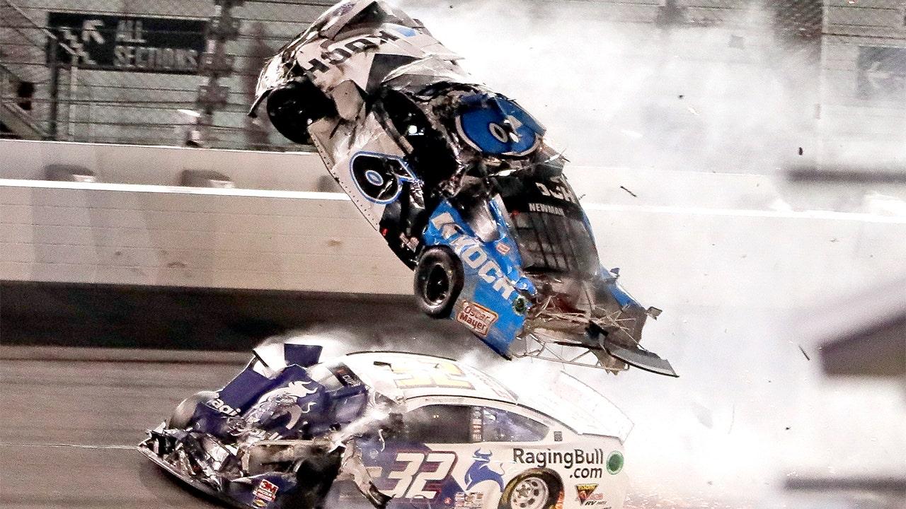 Ryan Newman walks out of hospital days after horrific Daytona 500 crash