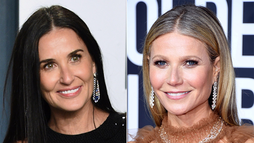 Gwyneth Paltrow, Demi Moore share photos from makeup-free event, leave fans stunned: 'Even more beautiful'