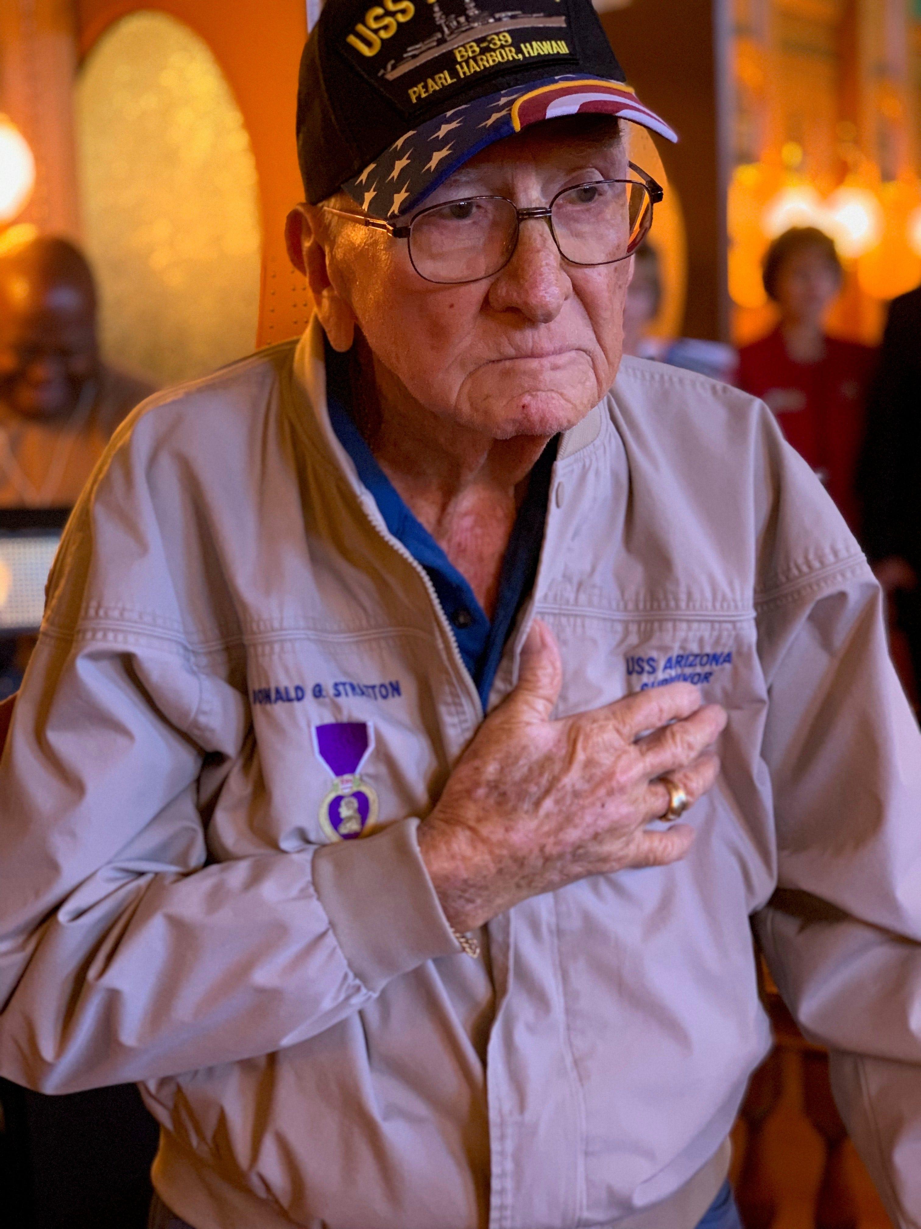 Donald Stratton, Pearl-Harbor-überlebenden, die kämpfte für die Anerkennung der held Seemann, verstorben im 97