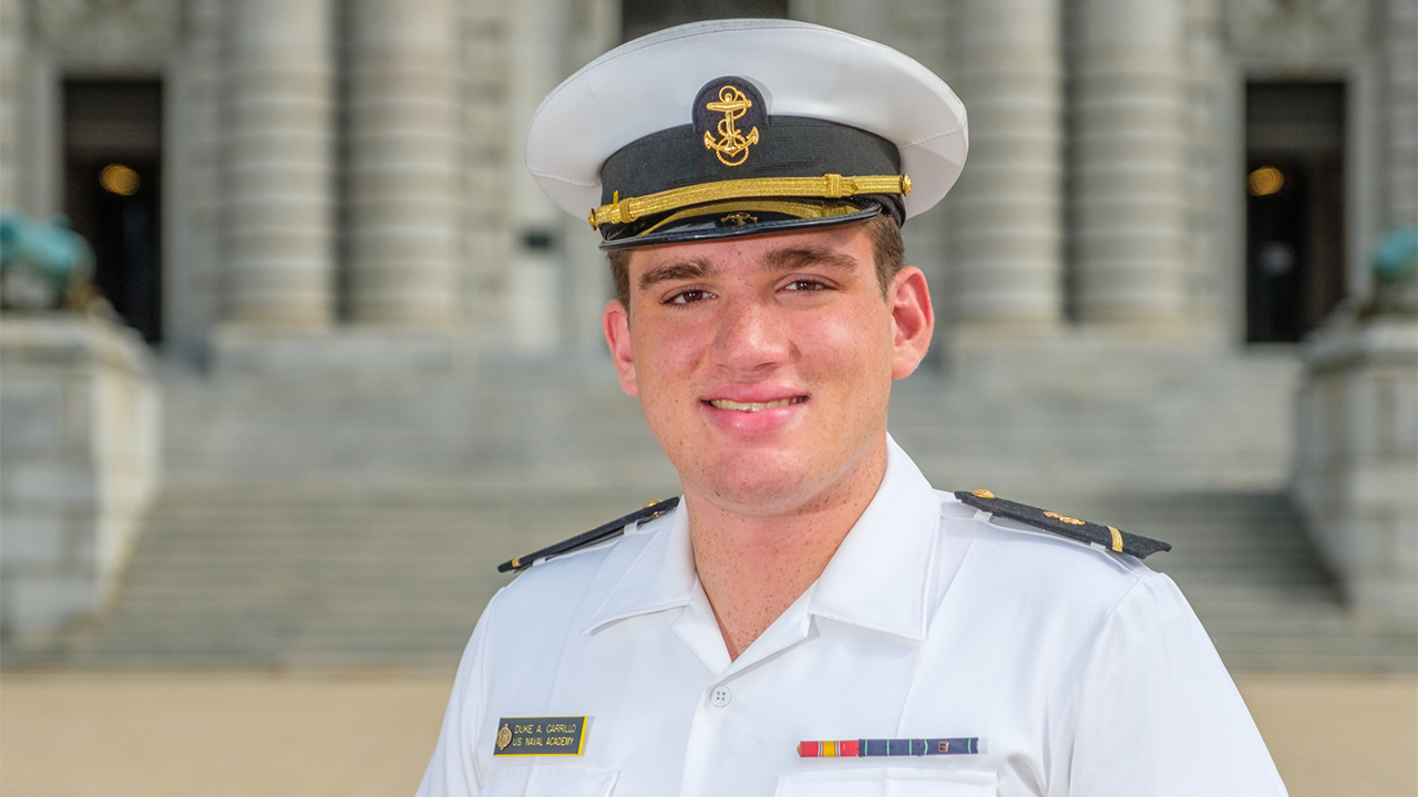 Westlake Legal Group Duke-Carrillo Naval Academy midshipman who died during physical readiness test is identified Frank Miles fox-news/us/us-regions/southwest/texas fox-news/us/us-regions/northeast/maryland fox-news/us/military/navy fox news fnc/us fnc article aa8b9ac7-71e9-5c2d-a0b9-dd671ee21eef