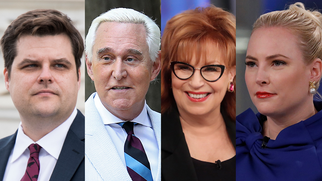 'The View' co-hosts argue with Gaetz over stance on Roger Stone pardon: 'Oh, come on congressman!'