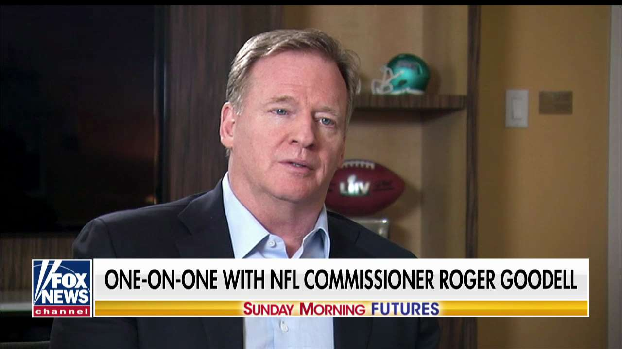 Westlake Legal Group Goodell- NFL commissioner Roger Goodell on the Super Bowl: 'It's become essentially its own holiday' Talia Kaplan fox-news/topic/fox-news-flash fox-news/sports/nfl fox-news/sports fox-news/shows/sunday-morning-futures fox-news/news-events/super-bowl fox news fnc/media fnc article 60d0bab6-54f2-5a59-91ba-c8bf8d2ae2d4