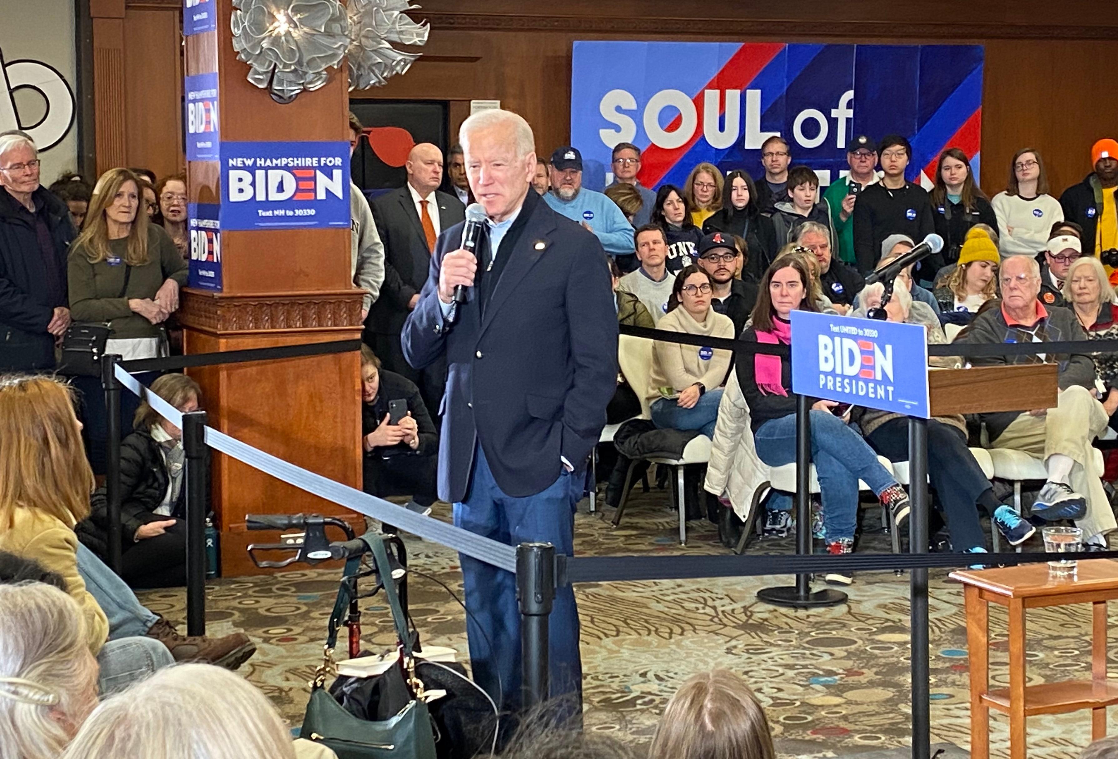 Biden admits Buttigieg, Sanders were
