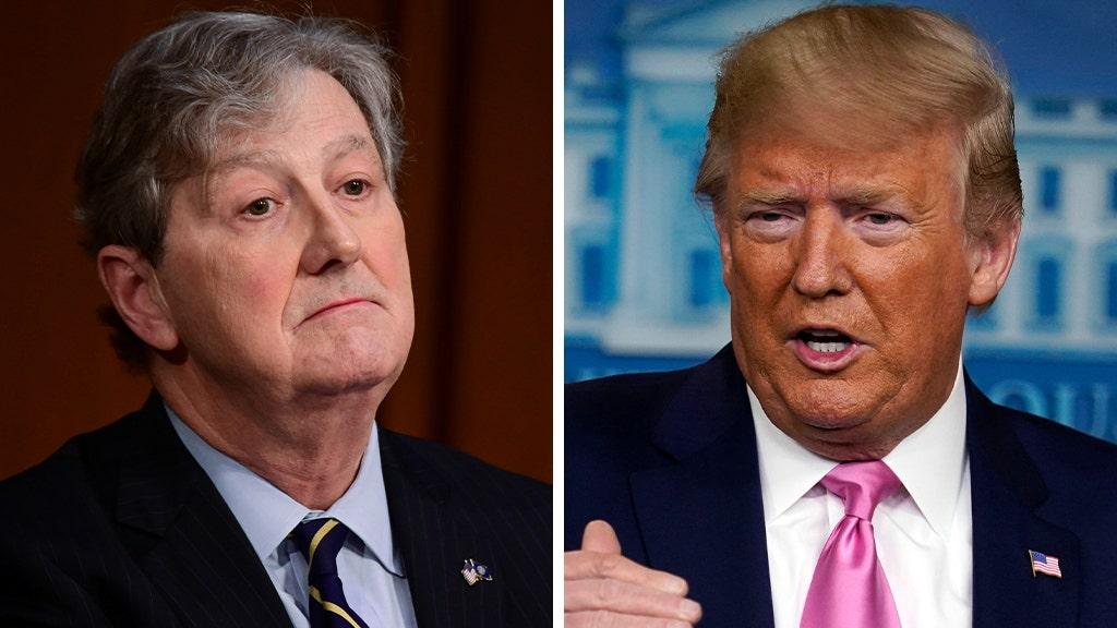 Sen. John Kennedy walks back earlier criticism of Trump admin's handling of coronavirus: 'I'm very pleased'