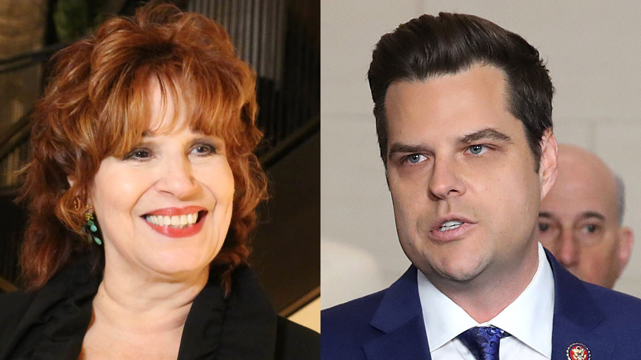 Matt Gaetz clashes with Joy Behar, asks if she's mourning death of political left as 'Venezuela wing' takes over