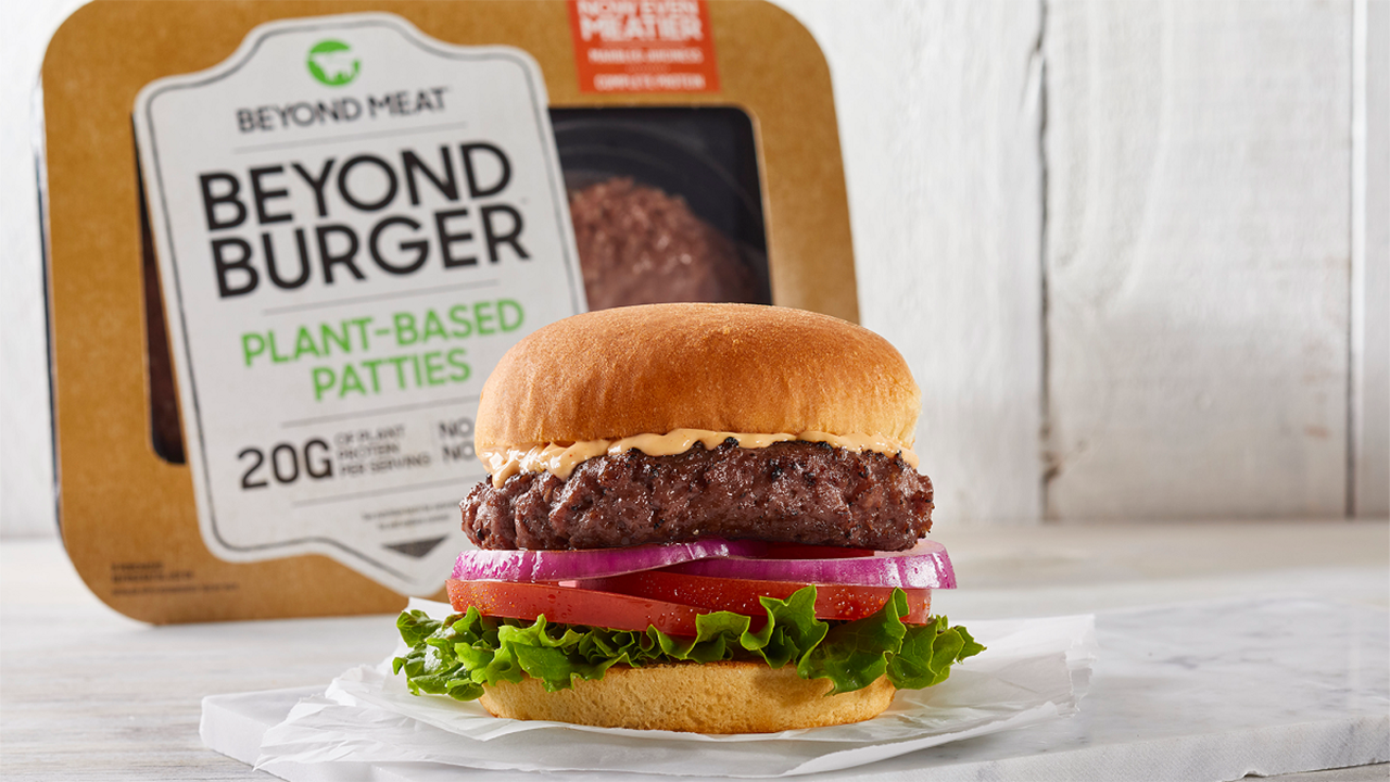 What is Beyond Meat made from?