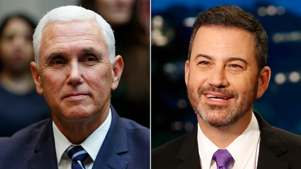 Jimmy Kimmel mocks Pence's ability to tackle coronavirus: 'What's his plan, abstinence?'