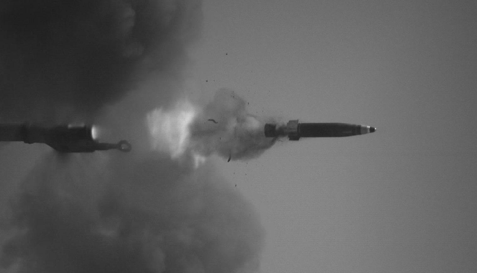 新しいレーザーガイド砲丸を破壊移動目標
