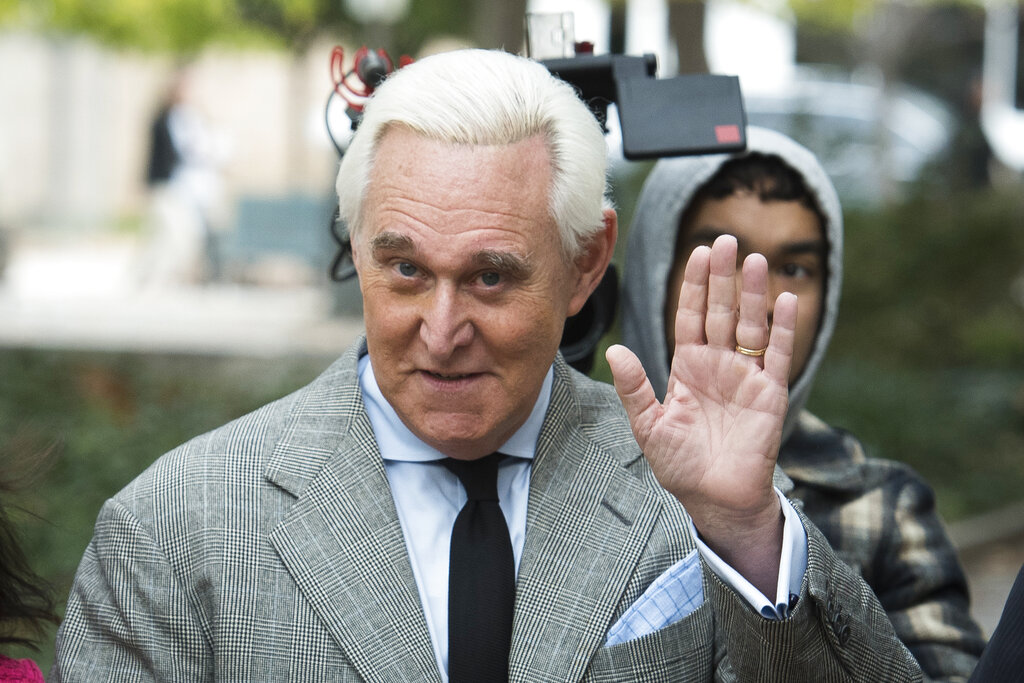 Westlake Legal Group RogerStone021320 Roger Stone gets testy with Axios reporter asking about his criminal case Vandana Rambaran fox-news/person/roger-stone fox-news/person/donald-trump fox-news/news-events/russia-investigation fox news fnc/politics fnc article 727dc5a2-41f5-55ef-9b5b-a159425a35b5