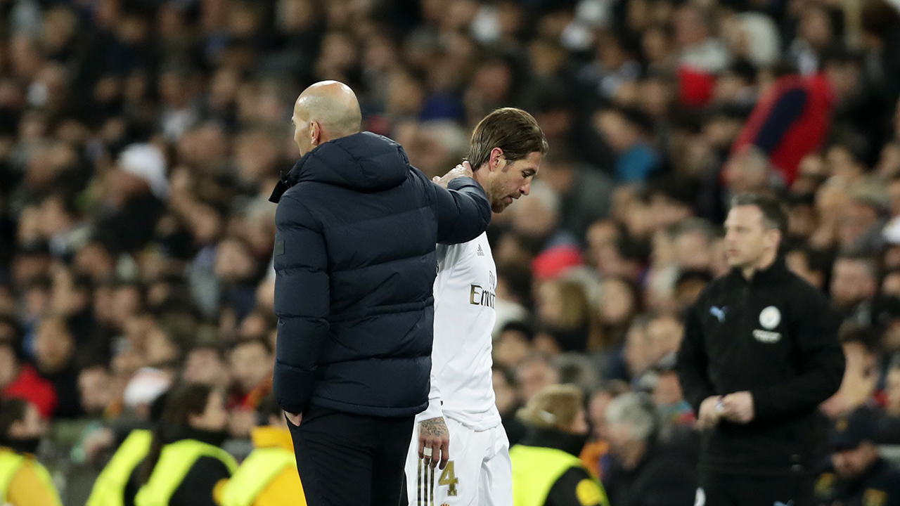 Zidane says 'clásico' perfect chance for Madrid to rebound