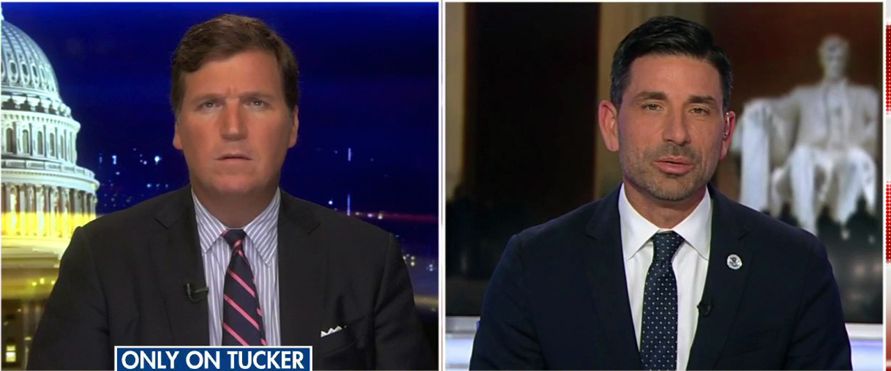 Westlake Legal Group TuckerChadWolf Acting DHS Secretary warns Democrat-backed New Way Forward Act would 'gut the rule of law' Victor Garcia fox-news/us/immigration fox-news/shows/tucker-carlson-tonight fox-news/media/fox-news-flash fox-news/entertainment/media fox news fnc/media fnc article ae5b727c-0cd5-5854-a044-a714c972c32d