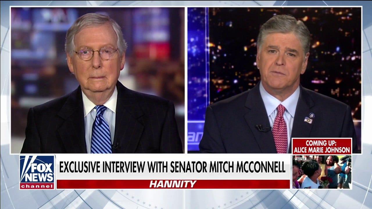 Westlake Legal Group Video-16 McConnell: Trump's impeachment was a 'colossal political mistake' by Democrats fox-news/topic/fox-news-flash fox-news/shows/hannity fox-news/politics/trump-impeachment-inquiry fox-news/politics/senate/republicans fox-news/politics/elections/republicans fox-news/person/mitt-romney fox-news/person/mitch-mcconnell fox-news/person/donald-trump fox-news/media fox news fnc/media fnc Charles Creitz article 0176183e-2383-53e1-9995-ef57a28cdecf