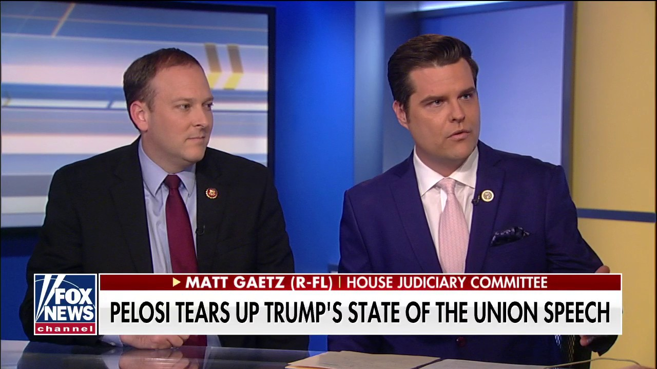 Matt Gaetz to file ethics charges against Pelosi, force a vote in House