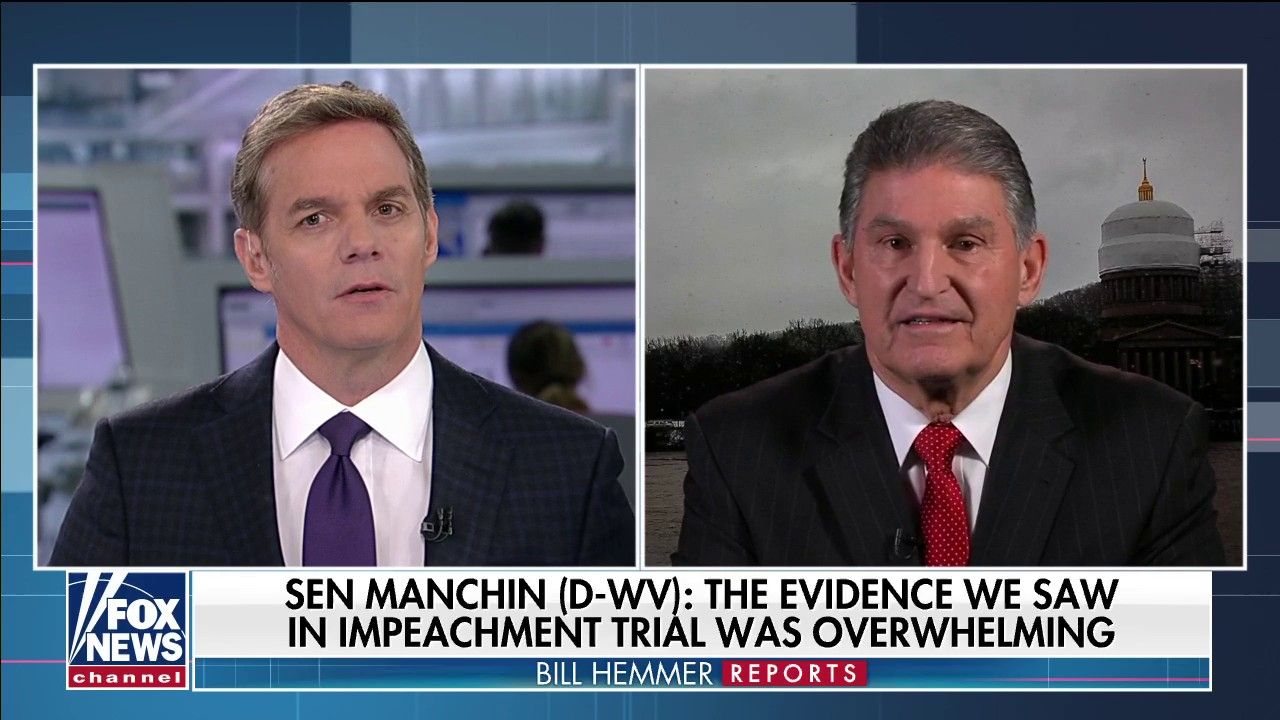 Westlake Legal Group Video-19 Manchin defends impeachment trial vote to oust Trump, says he wanted more evidence to acquit fox-news/us/us-regions/southeast/west-virginia fox-news/shows/bill-hemmer-reports fox-news/politics/trump-impeachment-inquiry fox-news/politics/senate/democrats fox-news/person/donald-trump fox-news/media/fox-news-flash fox-news/media fox news fnc/media fnc Charles Creitz article 1647e52e-d48a-5faa-9dd6-8651b2534ff1
