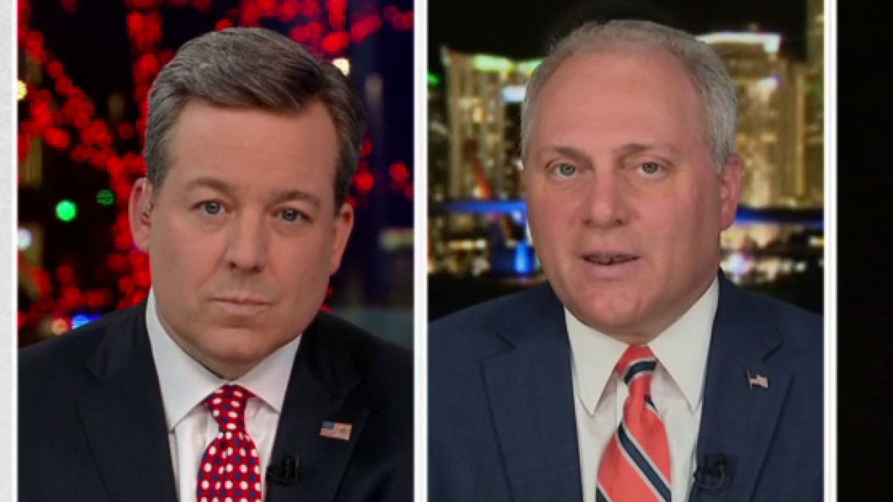 Westlake Legal Group Video-35 Steve Scalise reacts to Democrats, the 'party of impeachment,' considering new Trump investigations fox-news/shows/the-story fox-news/politics/trump-impeachment-inquiry fox-news/politics/house-of-representatives fox-news/person/steve-scalise fox-news/person/nancy-pelosi fox-news/person/donald-trump fox-news/media/fox-news-flash fox-news/media fox news fnc/media fnc Charles Creitz cad1c2d5-8666-5923-8942-cdf6a5ff0126 article