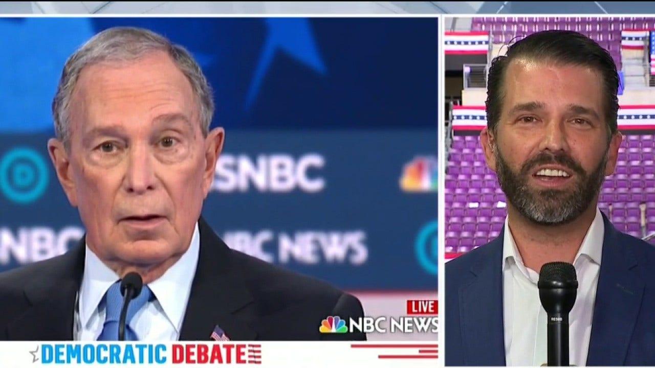 Donald Trump Jr. membanting Mike Bloomberg debat kinerja: 'Anda tidak bisa membeli kepribadian'