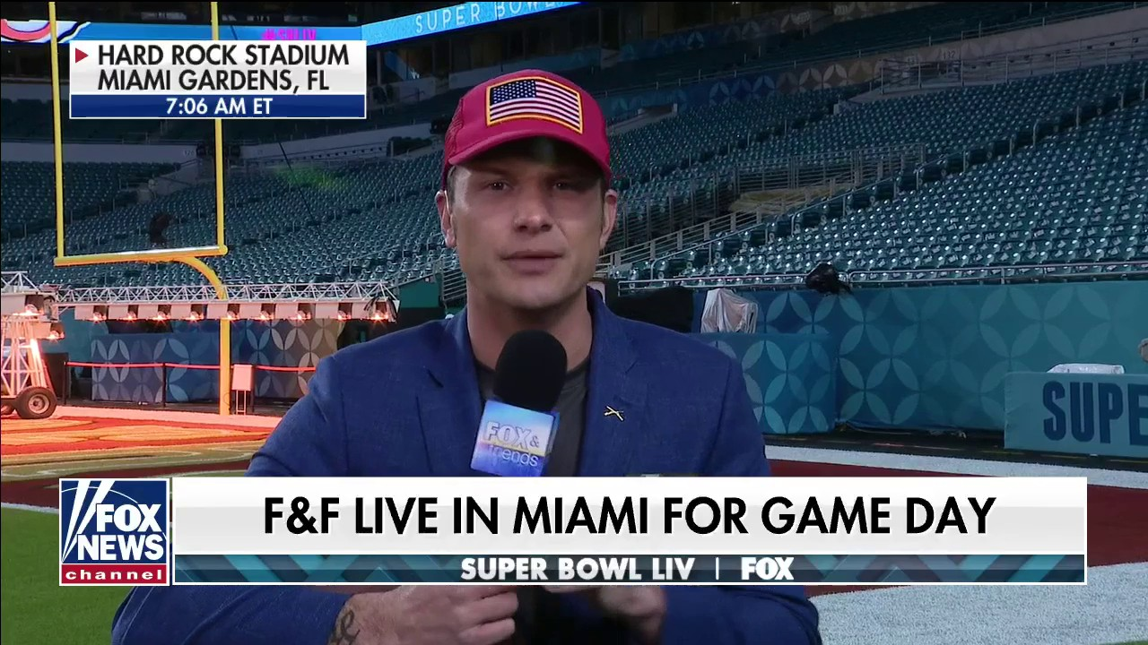 Westlake Legal Group Video-7 'First' on the field: Pete Hegseth joins 'Fox & Friends' from Hard Rock Stadium in Miami fox-news/travel/vacation-destinations/miami fox-news/sports/nfl/san-francisco-49ers fox-news/sports/nfl/kansas-city-chiefs fox-news/sports/nfl fox-news/shows/fox-friends fox-news/news-events/super-bowl fox-news/media/fox-news-flash fox-news/media fox news fnc/media fnc Charles Creitz article ab5bb06b-398d-5868-8c4c-a242cbfea75d