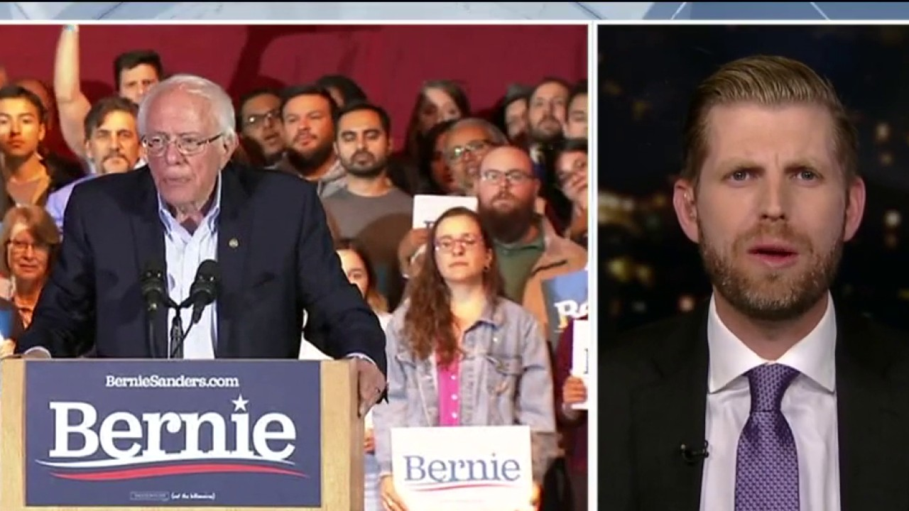 Westlake Legal Group Video-77 Eric Trump slams Sanders: 'He has three accomplishments, two of which are naming post offices' fox-news/us/us-regions/northeast/vermont fox-news/shows/hannity fox-news/politics/elections/democrats fox-news/person/donald-trump fox-news/person/bernie-sanders fox-news/media/fox-news-flash fox-news/media fox news fnc/media fnc Charles Creitz article 2b16032e-7ef0-5d02-8546-df7f821c3957
