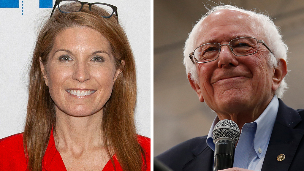 Westlake Legal Group Wallace-Sanders_AP MSNBC's ex-GOPer anchor Nicolle Wallace says she'd 'gladly and easily' vote for Bernie Sanders Joseph Wulfsohn fox news fnc/media fnc f78a4598-90b4-5757-9dee-a80877f1354d article