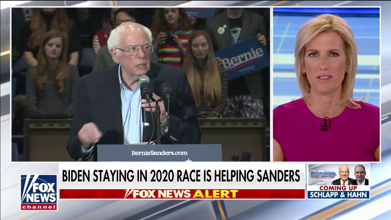 Westlake Legal Group a4ea98f8-Video-16 Laura Ingraham: Biden is only helping Bernie if he stays in race after New Hampshire flop fox-news/shows/ingraham-angle fox-news/politics/elections/presidential-primaries fox-news/politics/2020-presidential-election fox-news/person/donald-trump fox-news/person/bernie-sanders fox-news/media/fox-news-flash fox-news/media fox news fnc/media fnc Charles Creitz article 8bc5728a-6820-548a-945c-1ab4721ebb59