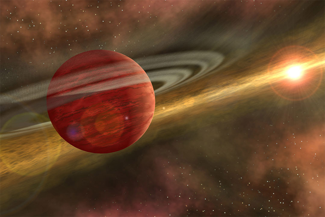 'Baby giant planet' discovered just 330 light-years from Earth