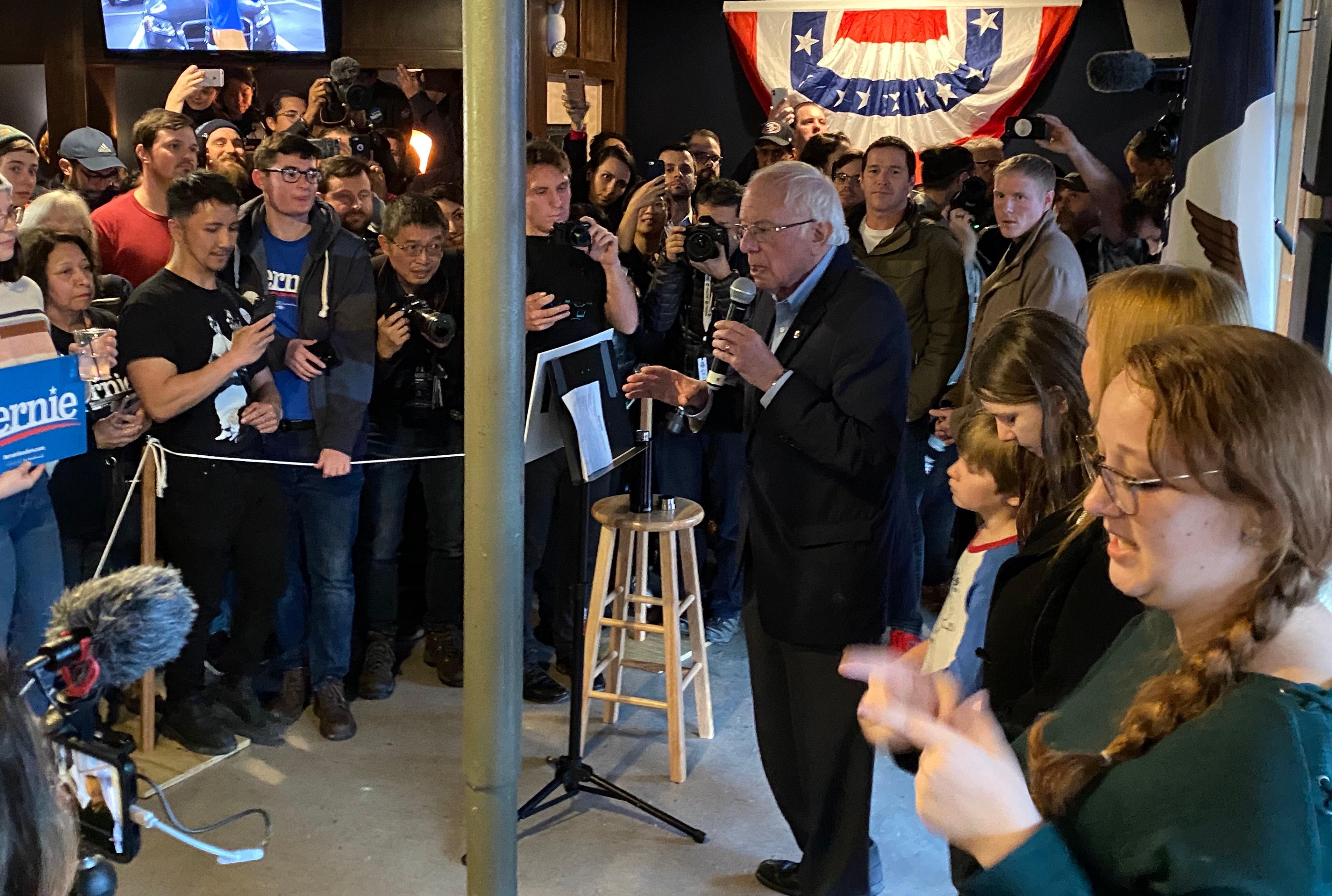 Die Kandidaten stellen Ihre Schließung Fälle am Vorabend von Iowa Kaukasus