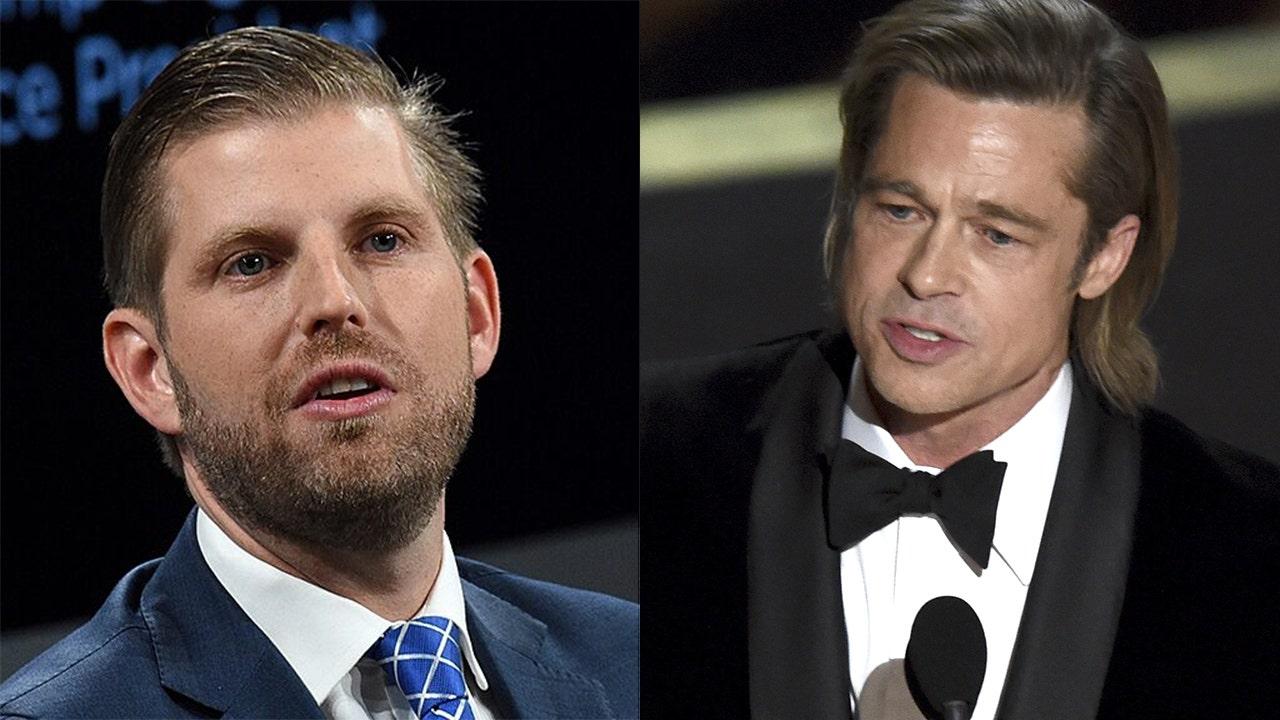 Eric Trump slams Brad Pitt as 'smug elitist' over Oscars speech thumbnail