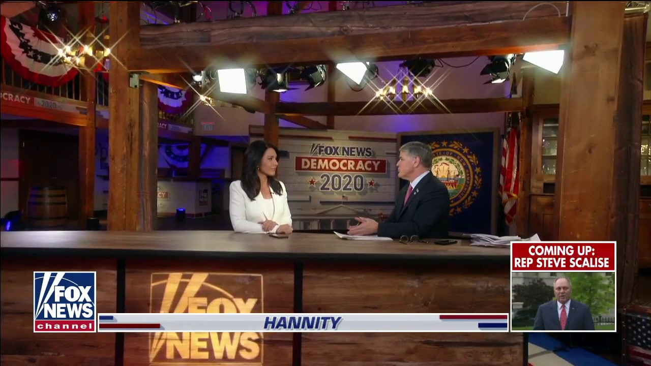 Westlake Legal Group db6d3ee7-Video-13 Hannity spars with Tulsi Gabbard over drug legalization: 'You're dodging' fox-news/us/crime/drugs fox-news/shows/hannity fox-news/person/tulsi-gabbard fox-news/person/donald-trump fox-news/media/fox-news-flash fox-news/media fox-news/health/mental-health/drug-and-substance-abuse fox news fnc/media fnc Charles Creitz cb9b5e20-8f69-55f6-8b41-4a4130318f2d article