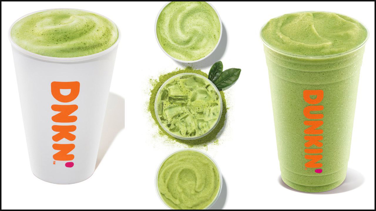 Dunkin' to release new matcha lattes
