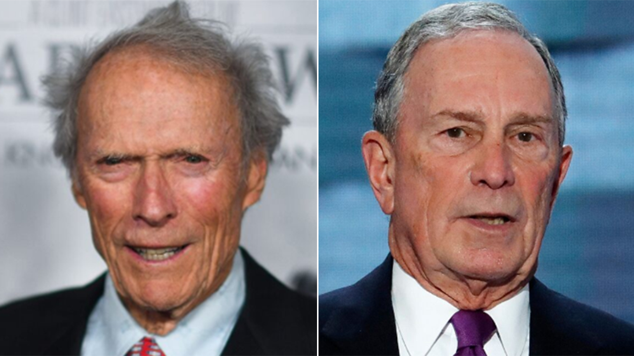 Clint Eastwood backs Mike Bloomberg, wishes Trump would be 'more genteel' in office