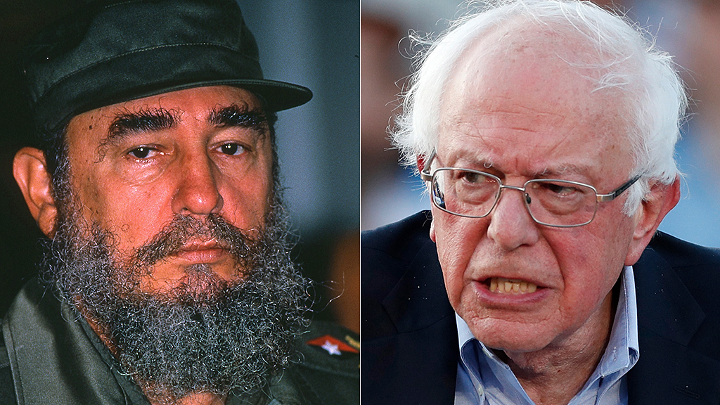 Bernie Sanders silent on Cuban pro-democracy uprisings after praising Fidel Castro's communist policies