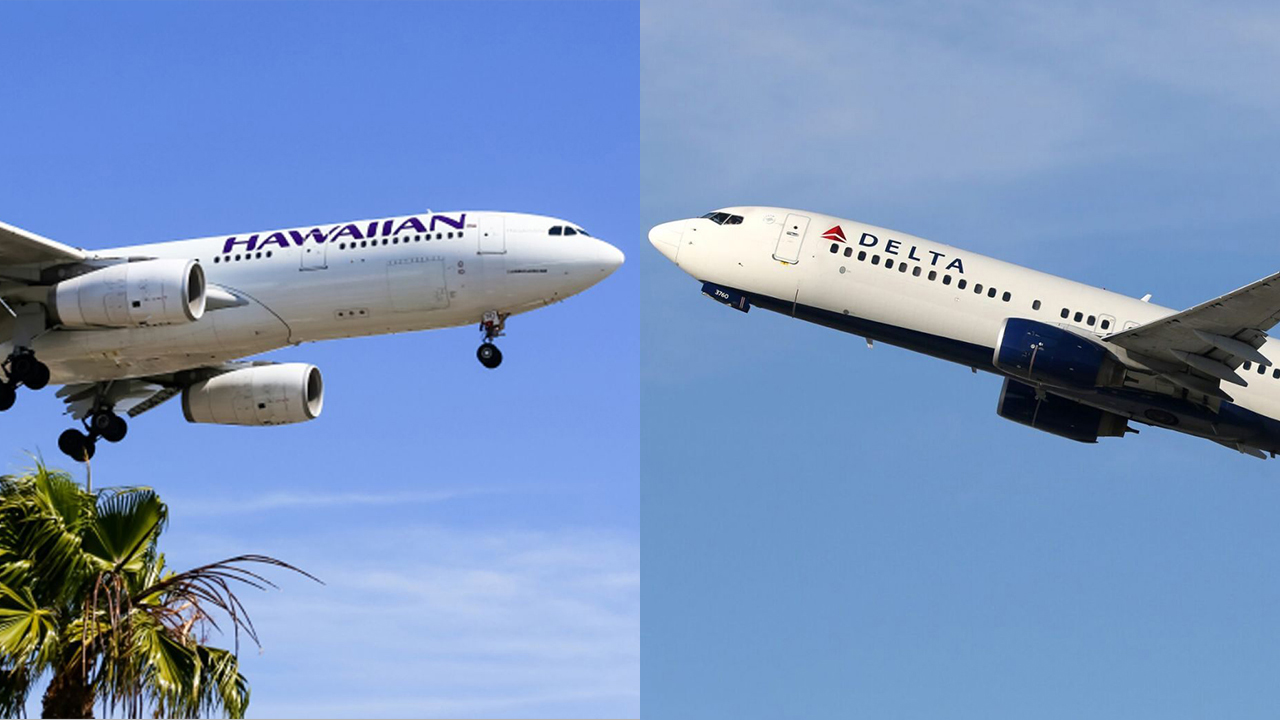 Couple diagnosed with coronavirus flew on Delta, Hawaiian Airlines flights, carriers confirm