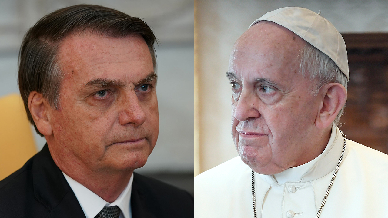 Brazil's president blasts Pope Francis on Amazon climate change: He 'may be Argentinean but God is Brazilian' - Fox News