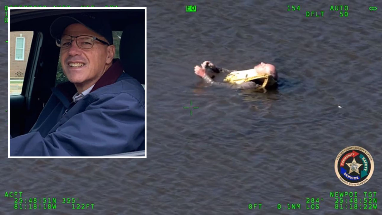 Missing kayaker in Florida Everglades found alive in dramatic rescue video after days adrift