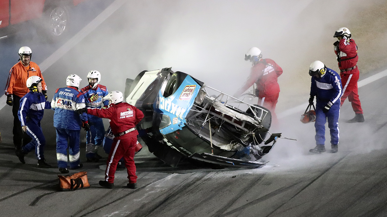 Here's why Ryan Newman's NASCAR car wasn't engulfed in flames after crash