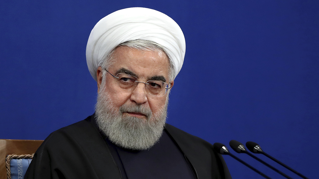 Westlake Legal Group rouhani-cropped-1242am Iran's Rouhani says US 'maximum pressure' campaign 'has failed,' Trump doesn't want war Jack Durschlag fox-news/world/world-regions/middle-east fox-news/world/conflicts/iran fox-news/politics/foreign-policy/middle-east fox-news/person/donald-trump fox news fnc/world fnc article 61002037-63b2-57e1-b5c7-95046c8988cc