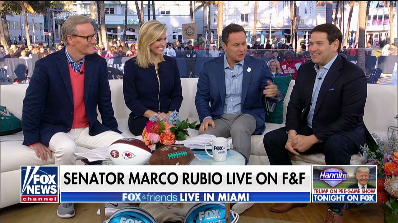 Westlake Legal Group rubio Sen. Rubio says Super Bowl is uniting in an atmosphere with 'all the divisions in this country' Talia Kaplan fox-news/topic/fox-news-flash fox-news/shows/fox-friends-weekend fox-news/politics/trump-impeachment-inquiry fox-news/politics fox-news/news-events/super-bowl fox news fnc/media fnc d555dc9c-3ff0-57f7-82b3-b257ebaedf69 article