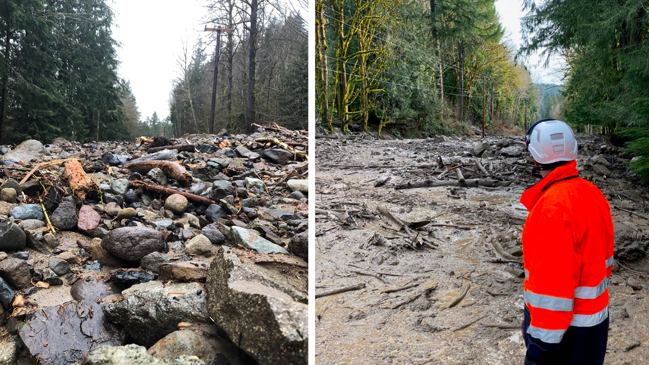 Mount Rainier National Park access blocked after heavy rains in Washington cause mudslides